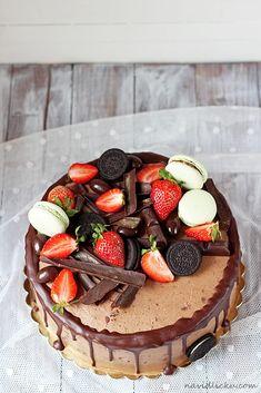 Na vidličku: Nejlepší čokoládový dort Home Bakery Business, Naked Cakes, Tasty, Yummy Food, How Sweet Eats, Chocolate Cake, Sweet Recipes, Cheesecake, Food And Drink
