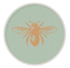 Motif de point de croix de l'abeille cross par MagicCrossStitch