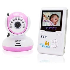 Wireless Security Baby Monitor System / Nursery Monitor / IR Night Vision / 2-Way Talk     http://wkup.co/cash_back/NTc2MTczNTEw/MTA1NTI5NQ==
