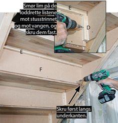 Så enkelt lager du din egen trapp - viivilla.no Storage Chest, House, Home Decor, Decoration Home, Home, Room Decor, Home Interior Design, Homes, Houses