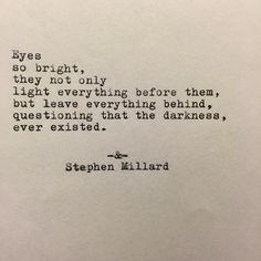 Stephen Millard original poem #38. Lovely words. One of my favorites.