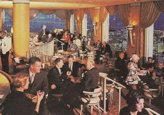 Retro lounges night clubs on pinterest nightclub lounges and las - Vintage lyon lounge ...