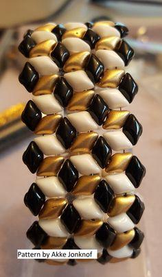 Beaded Gemduo Bracelet by ToriBeth Designs.