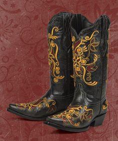 Costilla (black)- Black Star Boots