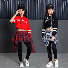 New Hip Hop Girls Clothing Children Teenage Girls Crop Hoodies Sweatshirt And Skirt Pants Sets Korean Kids Streetwear Wholesale Clothing Online Store. We Offer Top Good Quality Cheap Clothes For Women And Men Clothing Wholesaler, # Party Outfits For Women, Cute Girl Outfits, Cute Outfits For Kids, Girls Party Dress, Baby Girl Dresses, Girl Tutu, Party Dresses, Fille Hip Hop, Hip Hop Dance Outfits