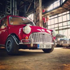 The Original Mini Cooper S as used in the Italian Job. Benny Hill, Micheal Caine, Noel Coward, three minis and the Fiat Factory. Brilliant.