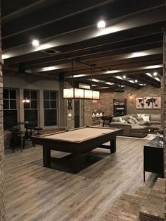 Browse photos of Basement Rec Room. Find ideas and inspiration for Basement Rec Room to add to your own home. See more ideas about Game room basement, Game room and Finished basement bars. Basement Remodel Diy, Basement Makeover, Basement Renovations, Home Remodeling, Basement Plans, Basement Gym, Man Cave Basement, Walkout Basement, Basement Shelving