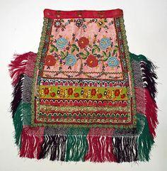 Ensemble Date: 1930s Culture: Hungarian Medium: silk, cotton, metallic thread, plastic