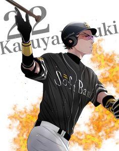 Miyuki as a pro *_* Aces Baseball, Baseball Boyfriend, Miyuki Kazuya, Diamond No Ace, Novel Characters, Kagehina, Character Development, Kurotsuki, Anime Ships