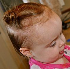 hair do's for a toddler girl!