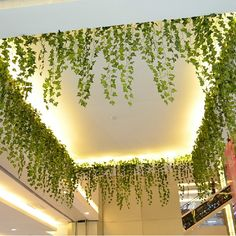 New Delightful Natural 1Pc 8.2Feet Artificial Hanging Ivy Leaves Plants Vine Fake Foliage Home Party Decor-in Decorative Flowers & Wreaths from Home & Garden on Aliexpress.com | Alibaba Group