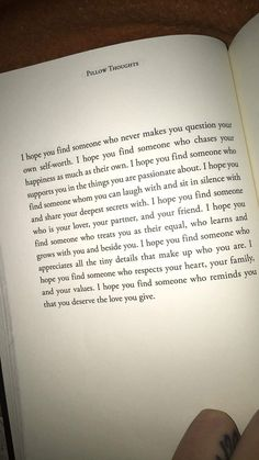 I hope you find someone Quote