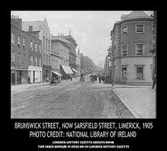 BRUNSWICK STREET, SARSFIELD STREET, 1905