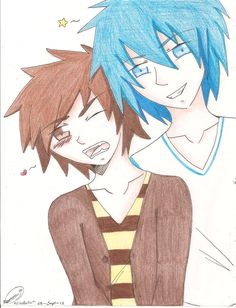 Rigby and Mordecai (colored) by AbyVanEnvurio.deviantart.com on @DeviantArt