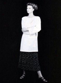 Krizia, American Vogue, May 1987. Photograph by Giovanni Gastel.