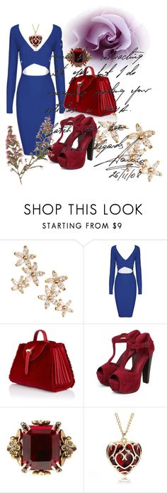 """""""Untitled #135"""" by nadira-i ❤ liked on Polyvore featuring Bonheur, Meli Melo, Breckelle's and Alexander McQueen"""