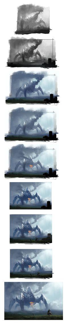 Awesome progression shots. Source: devantART. Artist: Chase-SC2