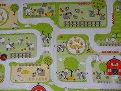 Filines Testblog: Roba Bauernhof-Spielematratze für die Kiddies