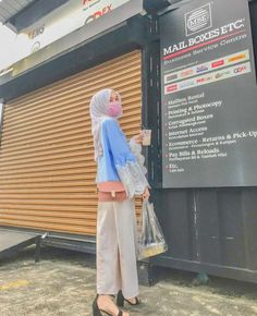 Hijab Casual, Hijab Outfit, Ootd, Pants, Outfits, Instagram, Ideas, Fashion, Trouser Pants