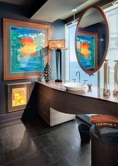 Casinha colorida: Home Tour: objetos e arte