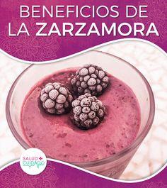 BENEFICIOS DE LA ZARZAMORA ¿PARA QUÉ SIRVE Y CUÁLES SON SUS PROPIEDADES PARA LA SALUD? #salud #beneficios #saludycuidado #saludable #alimentos #propiedades #frutas