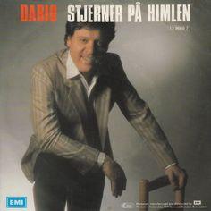 """Dario Campeotto anno 1987. """"Stjerner på himlen"""" var hans bidrag på årets Grand Prix-sang. En blandning af Disco og ballade... Faldt ikke umiddelbart i danskernes smag. Delt 6. plads."""