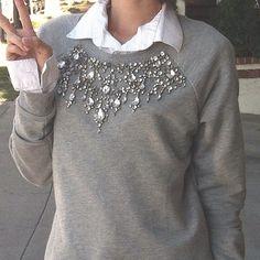 Forever 21 Embelished sweater