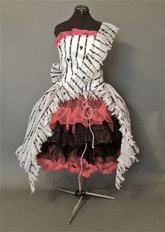 Alice in Wonderland Dress Recreation by Deconstructress on etsy