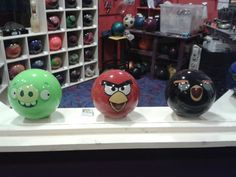 Angry Birds Bowling Balls! :)