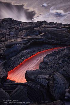 Lava Swoosh by Bruce Omori on 500px, Hawaii