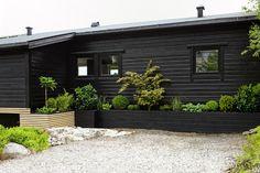 A LUSH GREEN ENTRANCE TO THE HOUSE - Therese Knutsen Small Patio Design, Back Garden Design, Modern Garden Design, Landscape Design, Large Backyard Landscaping, Landscaping Retaining Walls, Backyard Patio, Entrance Design, Balcony Garden