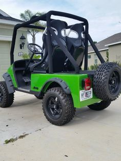 EZGO TXT 2011 Golf Cart Jeep