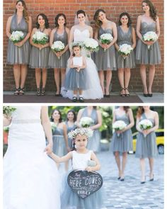 nice vancouver wedding Not only did we do Sarah's dress, we also did her 'maids. And a very special flower girl...Kathryn's daughter! #grayisthenewblack #realwedding #floralcrown #vancouverdesigner #bridesmaidinspiration #bridal by @kathrynbassbridal  #vancouverflorist #vancouverwedding #vancouverwedding