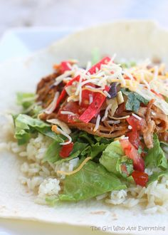 Cafe Rio's Sweet Barbacoa Pork | The Girl Who Ate Everything