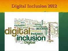 digital-inclusion-curated-conversation-2012 by London Knowledge Lab via Slideshare