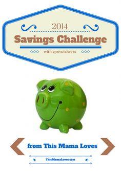 52 week savings challenge 2014
