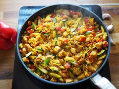 Paella, Chicken Recipes, Food And Drink, Lunch, Ethnic Recipes, Diet, Food, Essen