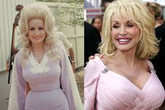 Dolly Parton has got courage to talk about her plastic surgeries, as she openly admits to having undergone a breast augmentation. The surgery was done purely because of cosmetic reasons as she was not prescribed by doctors to undergo breast augmentation. Bad Celebrity Plastic Surgery, Celebrity Surgery, Bad Plastic Surgeries, Plastic Surgery Gone Wrong, Celebrity News, Dolly Parton Age, Dolly Parton Young, Celebrities Then And Now, Famous Celebrities