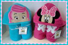 Molly & Minnie towels