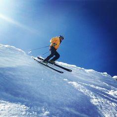 Doing more of this next season, definitely. Photo by churchwhat # snowsummit Slow Pitch, Alpine Meadow, Snow Skiing, Go Kart, Purpose, Favorite Things, Hobbies, Bucket, Adventure