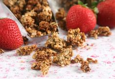 Three Seed Pear Granola, omit sesame and increase pumpkin or sunflower