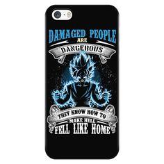 Super Saiyan - Damaged people - Iphone Phone Case - TL01146PC