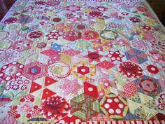 candied hexagons from lizzie_broderie