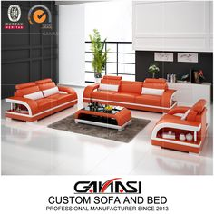 Best Quality Italian Latest Design Leather Home Sectional Furniture, Moden Sofa, Living Room Furniture,Model NO.:G8011D, Back Height:Medium Back, Certification:CARB, Fire Retardant Standard:BS 5852, Material:Genuine Leather, Inflatable:Non Inflatable, Condition:New, MOQ:1 Set, Delivery:Within 7-15 Days Prompt Delivery, Warranty:2 Years Warranty, Washable:Non Washable, Custom Made:Custom Size, Color, Shape etc, Color Choices:up to 40 Color Options, Trademark:GANASI, Transport Package:Untra… Modern Leather Sofa, Leather Sofa Set, Leather Sectional, Modern Sofa, Sectional Furniture, Sectional Sofa, Furniture Sets, Modular Office, Italian Sofa