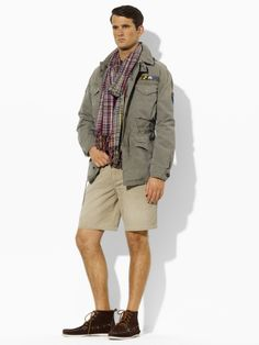 Military Jacket. Polo Ralph Lauren - Beaded Military Combat Jacket