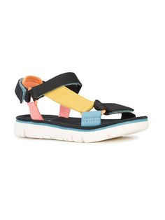 Camper touch strap sandals