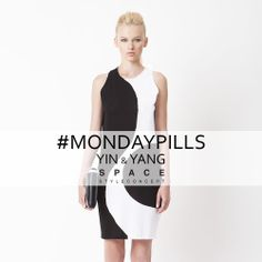Opposites attract also in the Fashion!  #YinYang #MondayPills