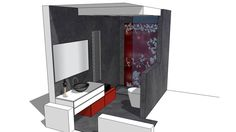 Large preview of 3D Model of Bagno