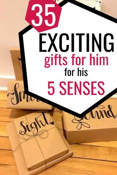 Five senses gift for him ideas for boyfriend. Your boyfriend will LOVE this romantic gift for him 5 senses including sound, touch, smell, taste and sight! It's the perfect gift for him Christmas, birthday, anniversary or Valentine's Day! # Diy Valentine Gifts For Boyfriend, Unique Gifts For Boyfriend, Bf Gifts, Valentines Diy, Boyfriend Gifts, Romantic Gifts For Him, Perfect Gift For Him, Best Birthday Gifts, Christmas Birthday
