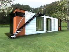 Upcycled Shipping Container House   Curbly